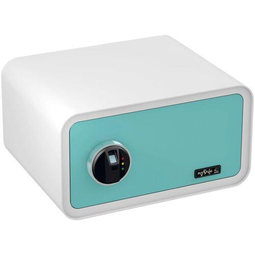 BASI Tresor »mySafe 430«, mit Fingerabdruck, blau