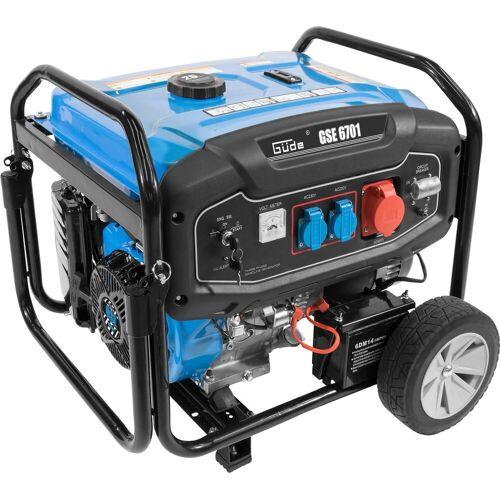 Güde Stromerzeuger »GSE 6701«, 9 in kW, 2 x Schuko 230 V/50 Hz, 1 x Schuko 400V/50Hz