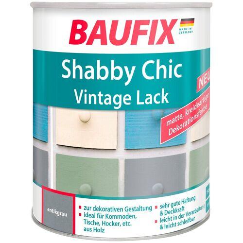 Baufix Acryl Buntlack »Shabby Chic«, Antik Lack, antikgrau, 750 ml, grau