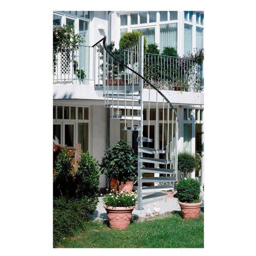 Dolle Außentreppe »Gardenspin«, grau
