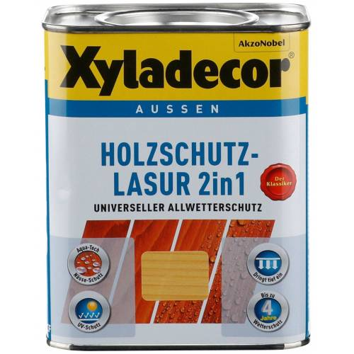 Xyladecor Xyladecor Holzschutzlasur »2in1«, 0,75 Liter, grün