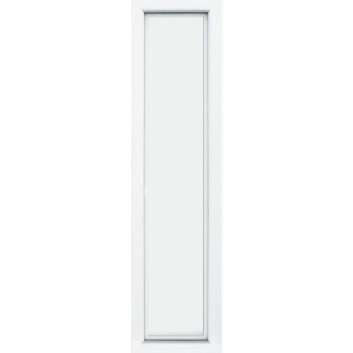KM Zaun Türseitenteil »S04«, für Alu-Haustür, weiß