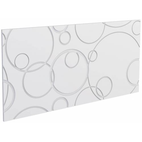Decoflair Set: 3D Wandpaneel »®Wandpaneele Bubbles«, 2er-Set, 78 x 38 cm, weiß