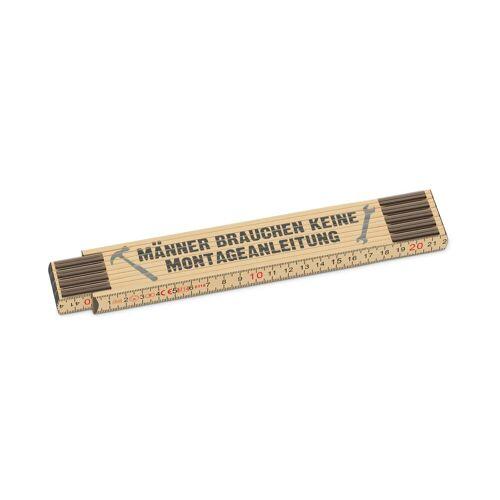 La Vida Zollstock »Auswahl Geschenk Zollstock Meterstab Holz Gliedermaßstab Motiv: Montageanleitung«, Montageanleitung 392444