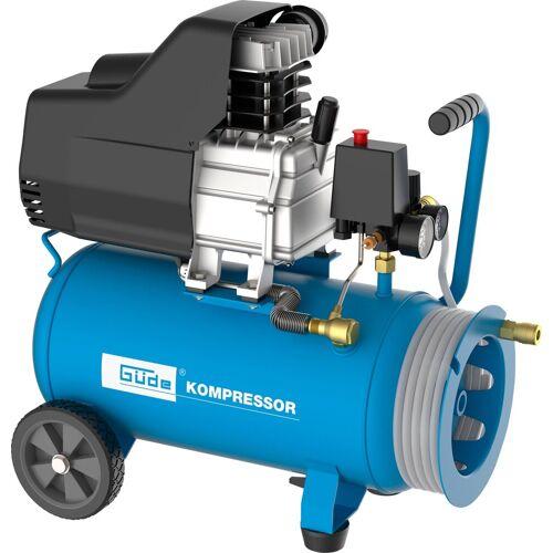 Güde GÜDE Kompressor »Set 260/10/24 ST«, inkl. 7,5 m Druckluftschlauch, blau