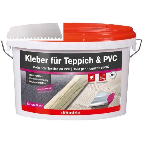 Bodenmeister Dispersionskleber »3kg Kleber und Zahnspachtel«, (2-tlg), für Teppichboden, PVC und Vinyl, reicht für ca. 12qm