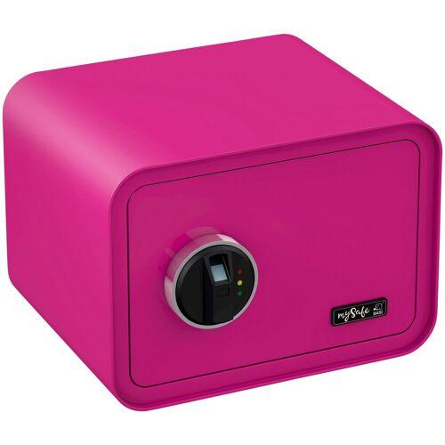 BASI Tresor »mySafe 350«, mit Fingerabdruck, rosa