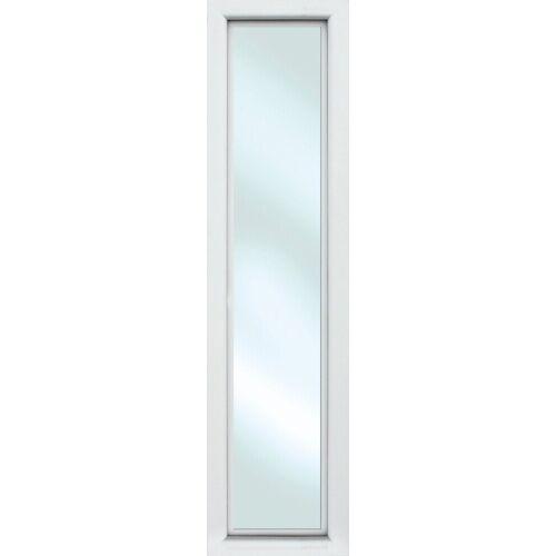 KM Zaun Türseitenteil »S01«, BxH: 60x198 cm, für Alu-Haustür, weiß