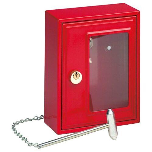 Burg Wächter BURG WÄCHTER Schlüsselkasten »6161«, Notschlüsselbox, rot