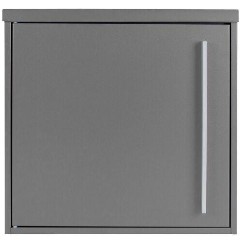 MOCAVI Briefkasten »Box 101 Design-Briefkasten grau-aluminium (RAL 9007)«