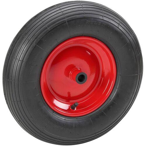 Metafranc Schubkarren-Rad 400 mm, für Schubkarren, schwarz