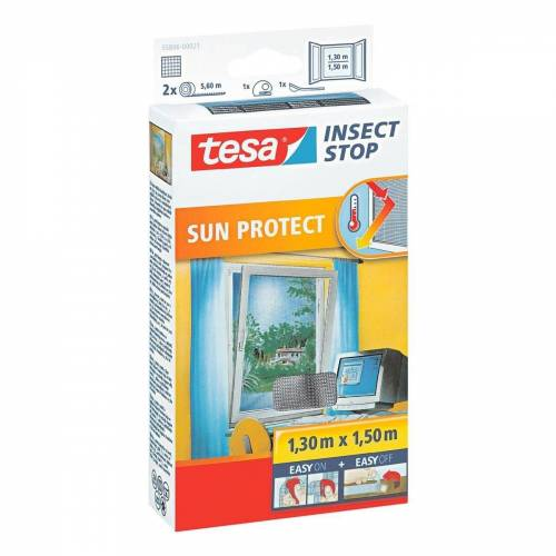 tesa Fensterschutzgitter »Sun Protect«, Fliegengitter 55806
