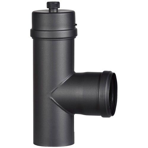 Firefix Anschlussstück, für 100 mm Pelletofenrohr