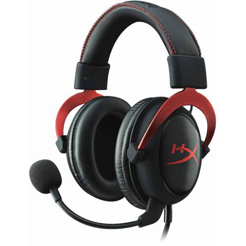HyperX »Cloud II Pro« Gaming-Headset, rot