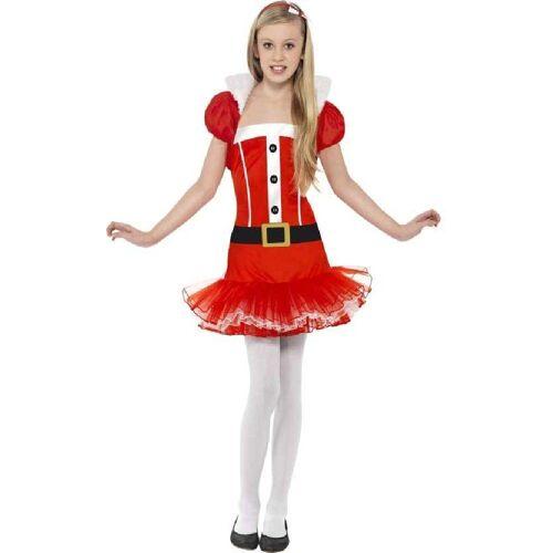 Smiffys Kostüm »Kleine Miss Santa Tutu Kostüm«