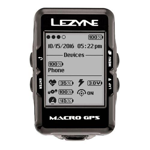 Lezyne Fahrradcomputer »Macro GPS Fahrradcomputer mit«