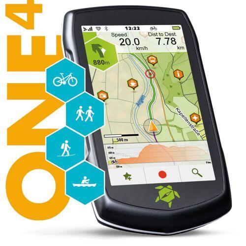 TAHUNA Outdoor-Navigationsgerät »ONE4«, Schwarz