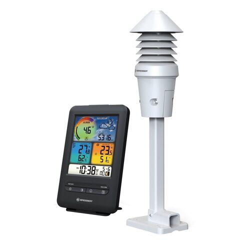 BRESSER Wetterstation »WLAN Farb-Wetterstation mit 4-in-1 UV/Licht-Sensor«