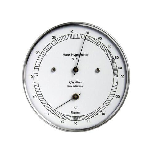 Fischer Barometer »Echthaar Hygrometer mit Thermometer, Außen« Innenwetterstation
