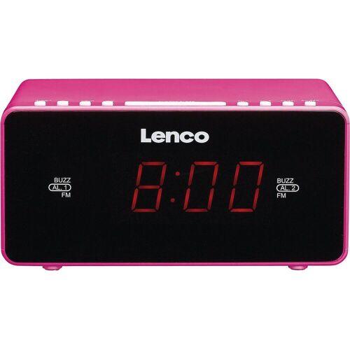 Lenco »Radiowecker CR-510 pink« Radiowecker
