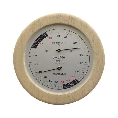 Fischer Sauna Thermohygrometer, Natur