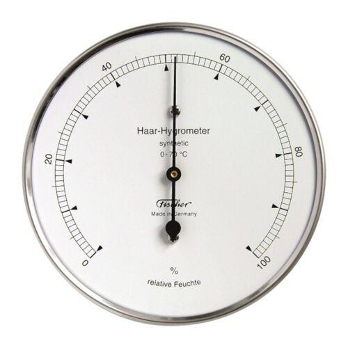 Fischer Haar-Hygrometer, Innenraum, Silber