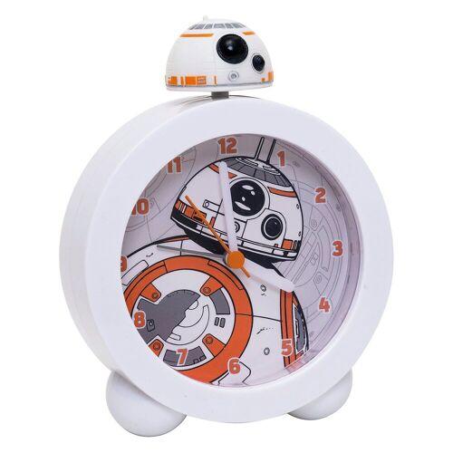 Joy Toy Star Wars BB-8 Wecker mit Sound und beleuchtetem Ziffernblat