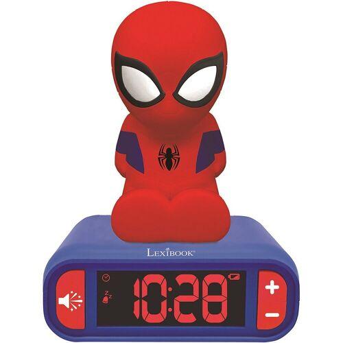 Lexibook® Radiowecker »3D Spiderman Design Nachtlicht Digital Radiowecker«