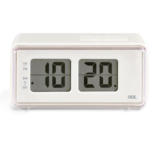 ADE Funkwecker »CK 1720« Wecker mit LCD-Display im Retro Klappzahlen-Design
