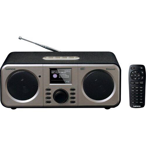 Lenco »DAR-030« Digitalradio (DAB) (Digitalradio (DAB), FM-Tuner)