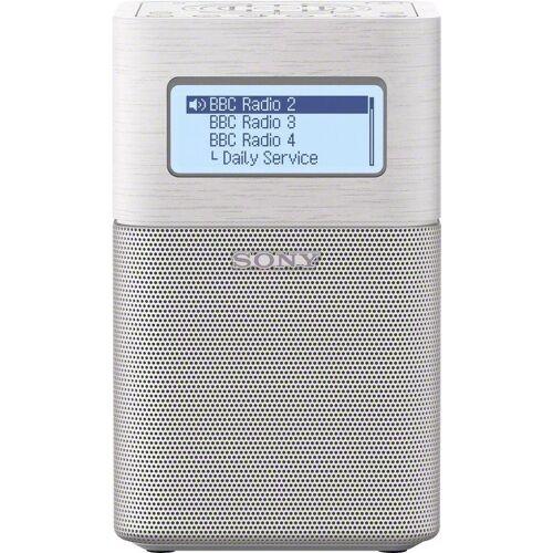 Sony »XDR-V1BTD« Radio (Digitalradio (DAB), FM-Tuner mit RDS), weiß