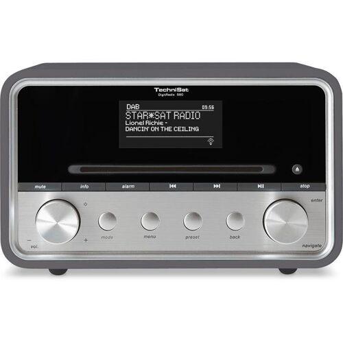 TechniSat CD Radio für DAB+/DAB/UKW/Internetradio (Multiroom,WLAN) »DigitRadio 580«