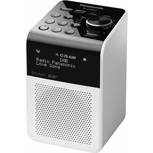 Panasonic »RF-D20BT« Radio (Digitalradio (DAB), FM-Tuner mit RDS, 3 W), weiß