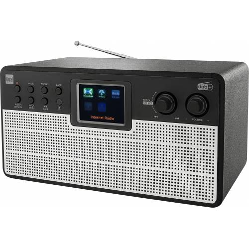 Dual »IR 100« Internet-Radio (Digitalradio (DAB), UKW mit RDS, Internetradio, 10 W)