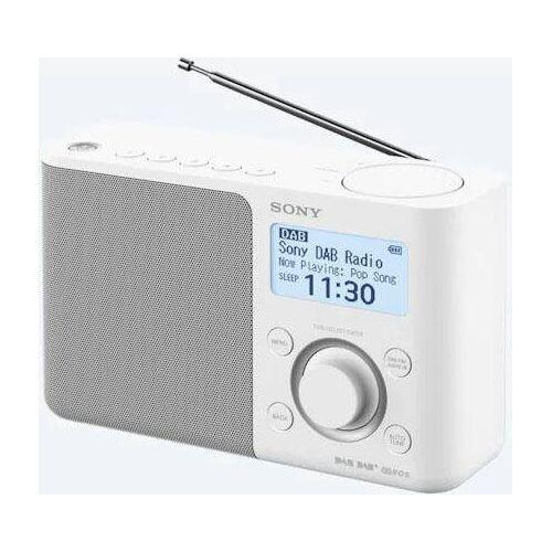 Sony »XDR-S61D« Radio (Digitalradio (DAB), FM-Tuner), Weiß