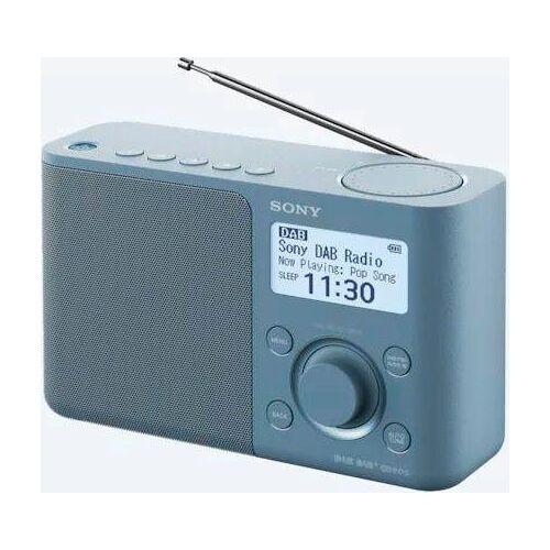 Sony »XDR-S61D« Radio (Digitalradio (DAB), FM-Tuner), Blau