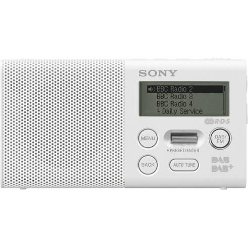 Sony Radio »Pocket-Radio, XDR-P1DBPW mit DAB«, Weiß