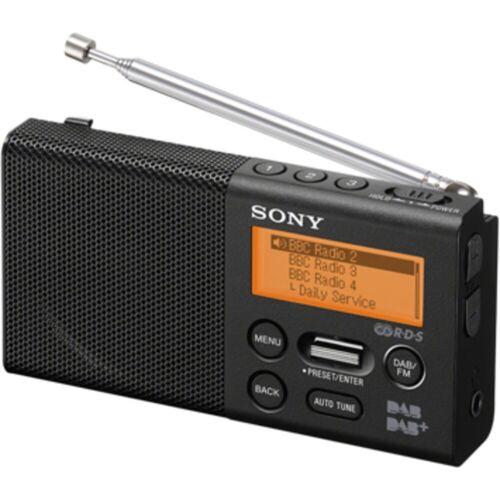 Sony Radio »Pocket-Radio, XDR-P1DBPW mit DAB«, Schwarz