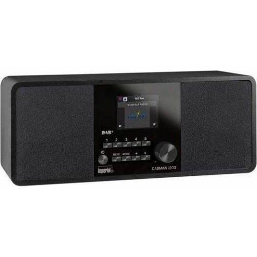 IMPERIAL »DABMAN i200« Digitalradio (DAB) (Digitalradio (DAB), FM-Tuner, Internetradio, UKW mit RDS, 20 W)