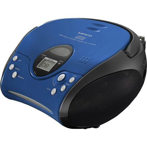 Lenco »SCD-24 mit CD stereo« UKW-Radio, blau