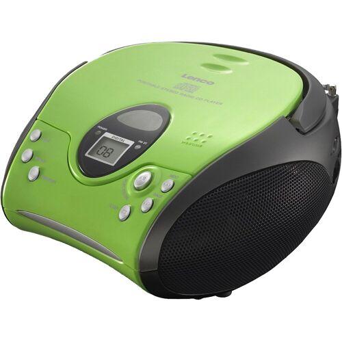 Lenco »SCD-24 mit CD stereo« UKW-Radio, grün