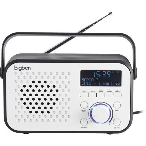 BigBen »Tragbares DAB-Radio TR24 (weiss)« Radiowecker