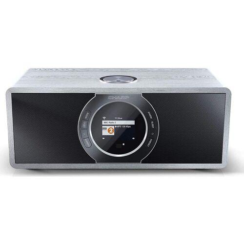 Sharp »DR-I470, grey« Internet-Radio (Digitalradio (DAB) FM-Tuner mit RDS Webradio)