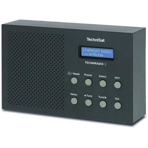 TechniSat »TechniRadio 3 DAB Radio schwarz« Radio