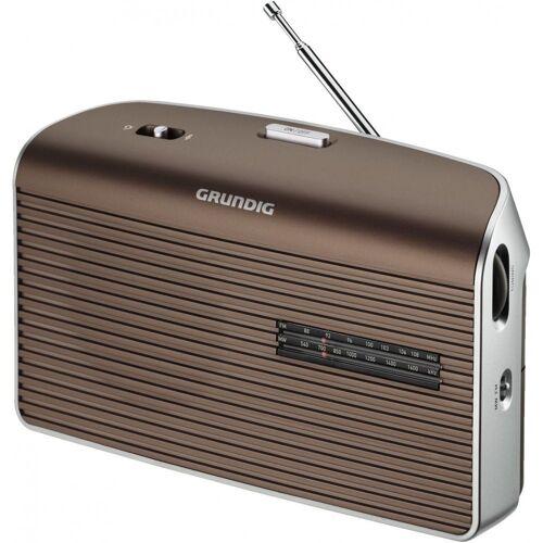 Grundig »Music 60 Kofferradio UKW/MW Tuner Netz-/Batteriebetrieb« UKW-Radio (Tuner für UKW/MW)