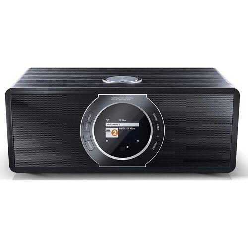 Sharp »DR-I470, black« Internet-Radio (Digitalradio (DAB) FM-Tuner mit RDS Webradio)