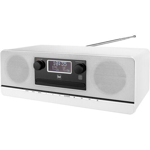 Dual »DAB 420 BT« Kompaktanlage (Digitalradio (DAB), UKW mit RDS, 10 W), weiß