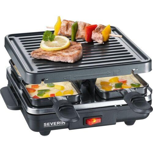 Severin Raclette RG 2686, 4 Raclettepfännchen, 600 W