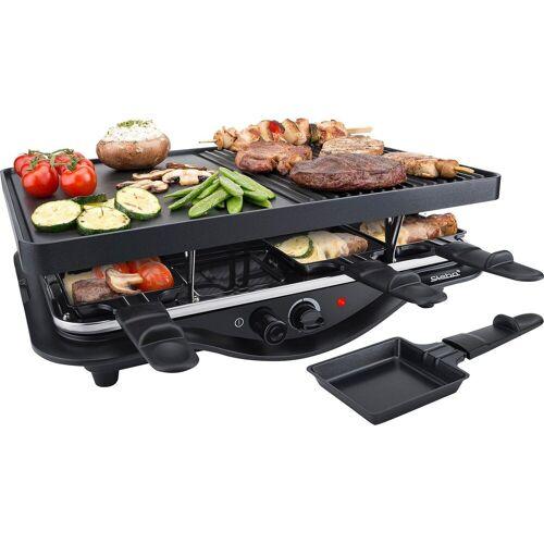 Steba Raclette RC 28, 8 Raclettepfännchen, 1400 W
