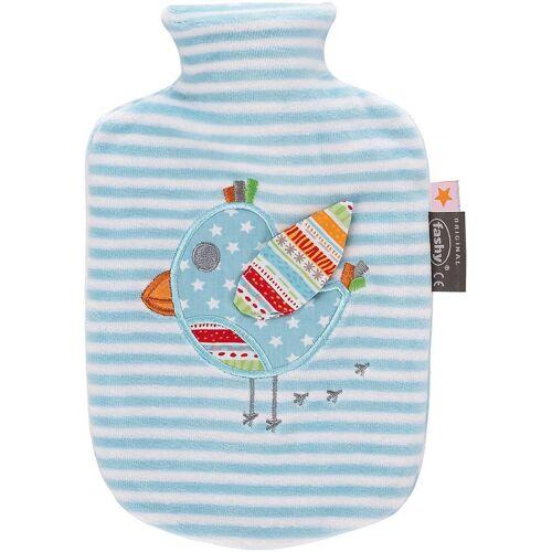 Fashy Wärmflasche »Wärmeflasche, Vogel, blau/weiß«